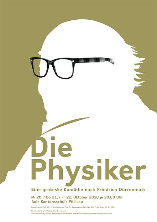 Die Physiker Sputnik Sager Grafik Luzern