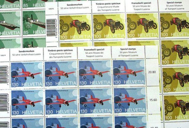 Briefmarke Verkehrshaus
