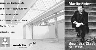 m2 Waldis Lesung Martin Suter