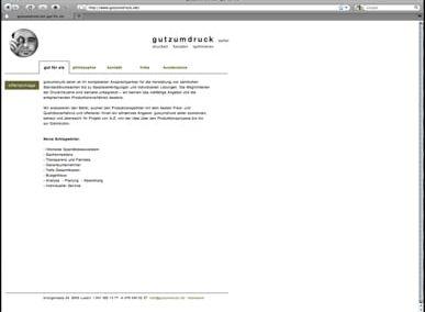GutzumDruck Seiler Webseite