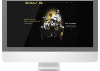Webseite The Bugattis