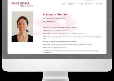 Praxis Dietiker Webseite