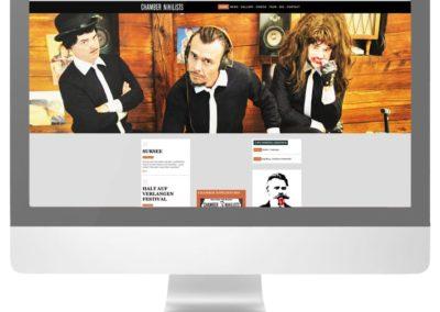 Chamber Nihilists Webseite