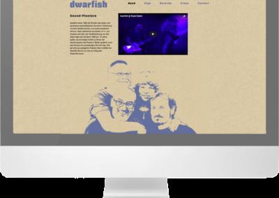 Dwarfish Webseite