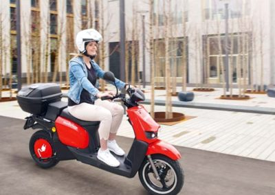 Mobility Scooter Beschriftung