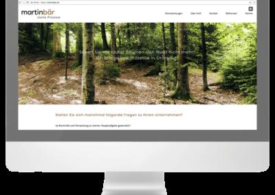 Martin Bär Webseite