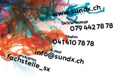S&X Hotline Kärtchen Rückseite