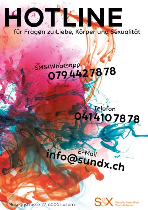 S&X Hotline Poster