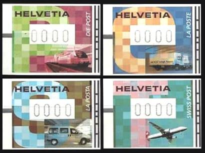 Automatenmarken Briefmarken