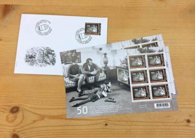 Briefmarke Mondlandung