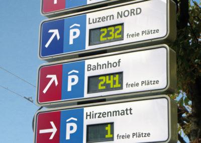 Stadt Luzern Parkleidsystem