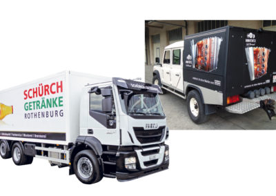 Schürch Getränke Lastwagen
